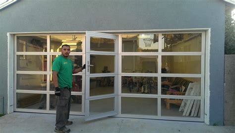 Aluminum And Glass Garage Doors 20 Glass Garage Door Carehouse Info