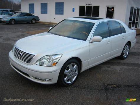 crystal ls for sale 2005 lexus ls 430 sedan in crystal white 018351 jax