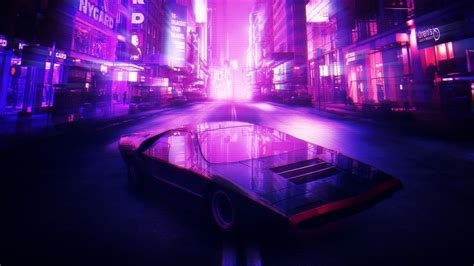 Car Wallpaper Retro by Synthwave Wallpaper 80 Images