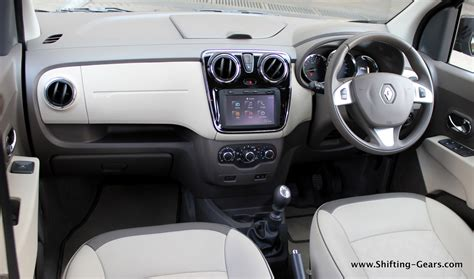 renault lodgy interior renault lodgy review shifting gears