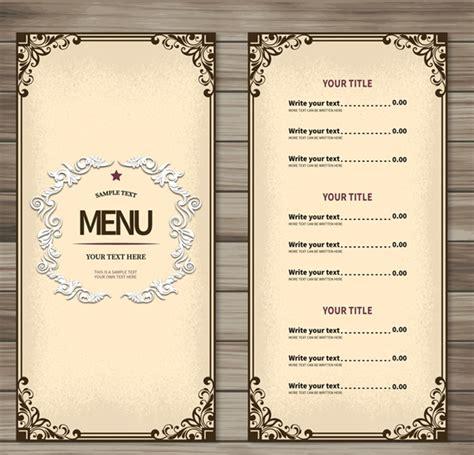 design menu simple simple restaurant menu design vector graphics my free