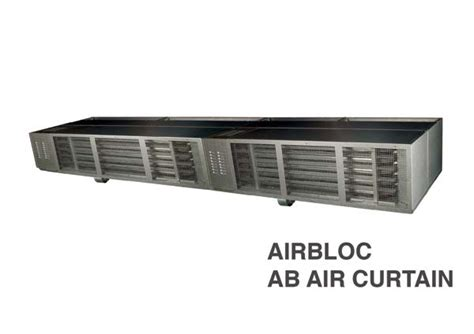 airbloc air curtain airbloc closes the door on energy loss with the new ab