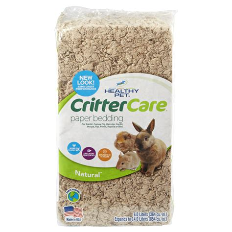 critter care bedding critter care natural pet bedding 14l meijer com