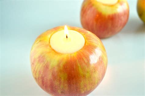 Apple Candle apple candles