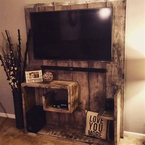 Barn Door Tv Stand White Best 25 Pallet Tv Stands Ideas On Pinterest How To Make