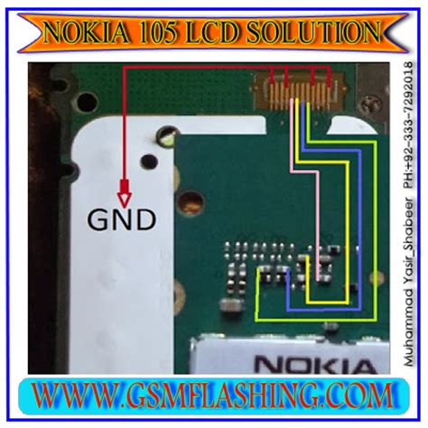 Lcd Nokia 105 nokia 105 lcd display problem new 100 ok jumper solution