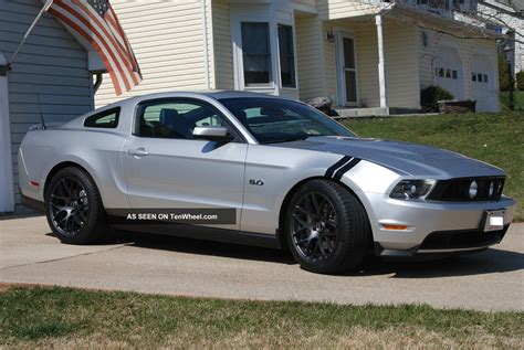 ford mustang modified pristine lightly modified 2011 ford mustang gt