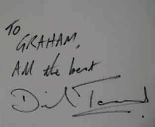 david tennant autograph david tennant signed card