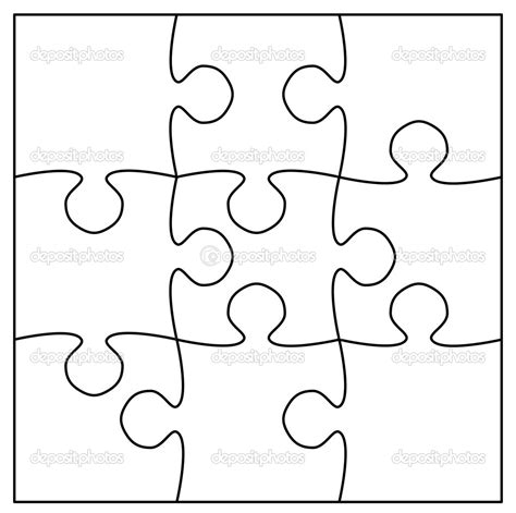 best photos of 9 piece jigsaw puzzle blank blank puzzle