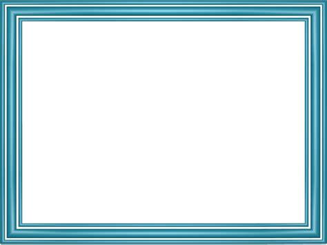 Free Powerpoint Borders Light Blue Elegant 3 Separate Powerpoint Borders Free