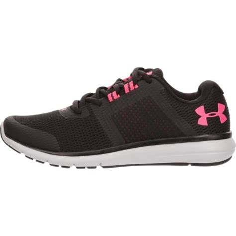 Armour Ua Fuse Fst Run Black Grey armour s fuse fst running shoes academy