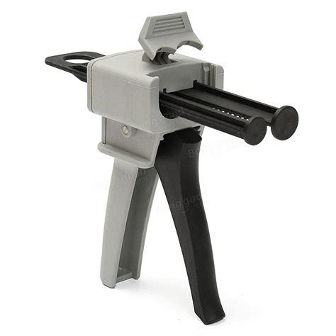 Sale Nozzle Gun 3 4 Inch Dispenser Pertamina Spbu Putih 50ml 1 1 2 1 epoxy resin gun dispenser with static mixing nozzle gun applicator sale banggood