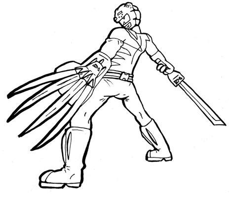 wild force power rangers coloring page www pixshark com