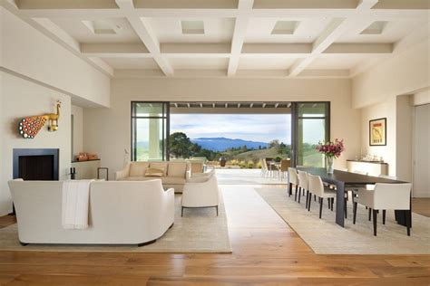 Modern Coffered Ceiling Modern Coffered Ceiling Dining Room Eclectic With Modern