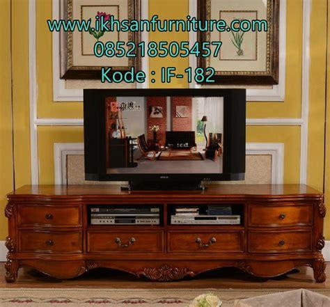 Meja Tv Minimalis Terbaru harga meja tv jati minimalis model meja tv jati minimalis terbaru ikhsan furniture jepara
