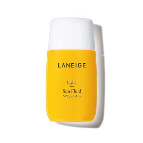 Laneige Sunblock skincare light sun fluid spf50 pa laneige sg
