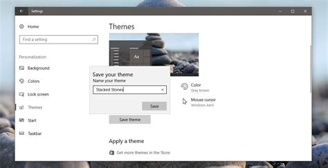 theme windows 10 color how to create custom themes in windows 10