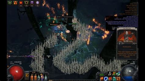 sextant blocking path of exile 100 shaped spider forest map runs results