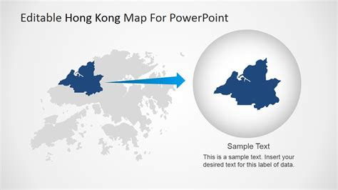 hong kong powerpoint template editable hong kong map for powerpoint slidemodel