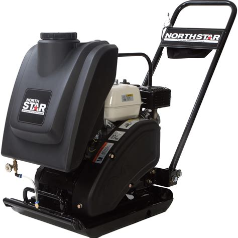 honda 5 5 hp water northstar single direction plate compactor with water tank
