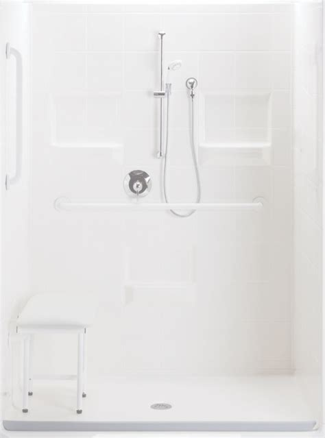 handicapped showers bathrooms interior white handicapped accessible bathroom design with