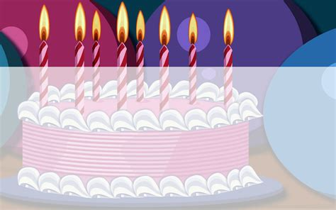 Birthday Cake Templates For Powerpoint Presentations Birthday Ppt