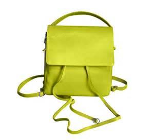 Cowhide Leather Backpack Borsa Zaino Tolosa