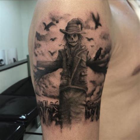 scarecrow tattoos 17 best images about scarecrow tattoos on to