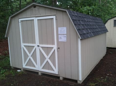 deluxe wood sheds