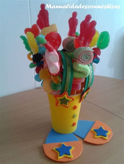 pin dulceros payaso on pinterest brochetas de gominolas para nuestro dulcero payaso goma