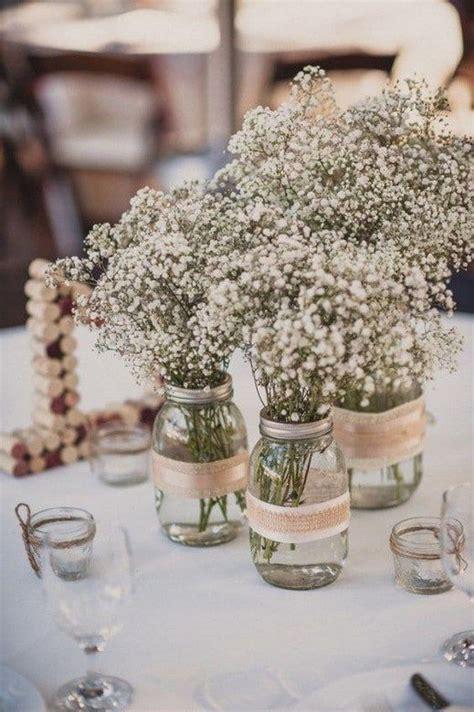 rustic table centerpieces 37 beautiful jar wedding centerpieces weddingomania