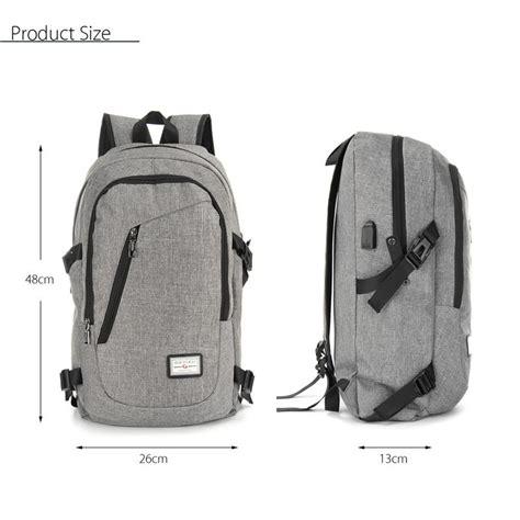Tas Smart Backpack With Usb Port dxyizu tas ransel dengan usb charger port black jakartanotebook