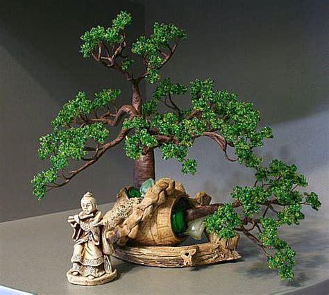beaded bonsai tree bonsai beaded tree ioma