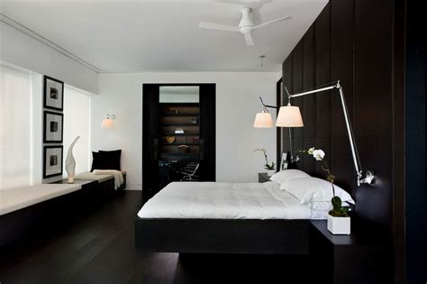 dark hardwood floors in bedroom bedroom master bedroom features slanted wood panel ceiling