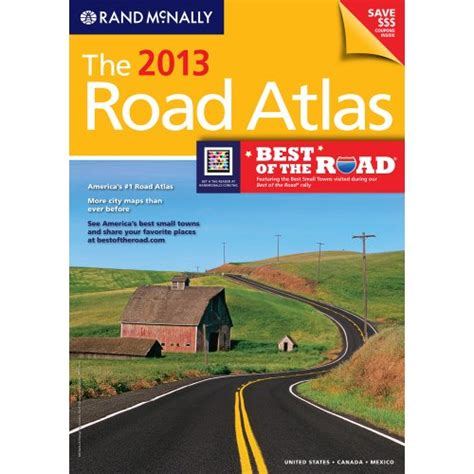 atlas canada united states mexico books the 2013 road atlas rand mcnally road atlas united