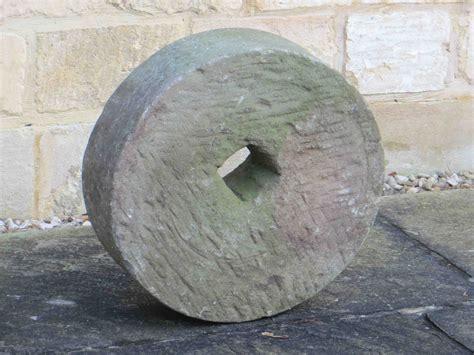 Art Gallery Pedestals Small Antique Stone Millwheel Decorative Collective