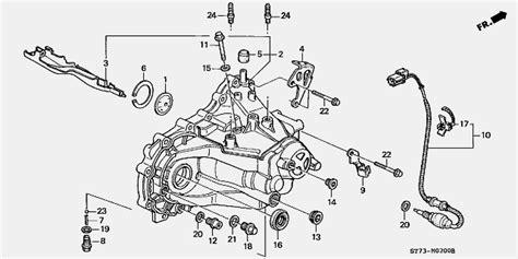 262 Speed Sensor Matic Honda Civic Vtis 1 7 trans fill bolt location on a b series civic forumz honda civic forum