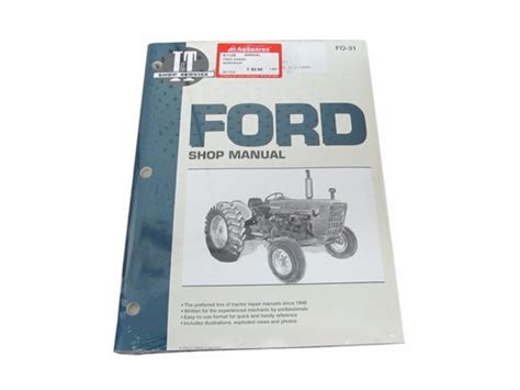 Manual Ford 2 3 4000 Service New And Second Hand Tractor