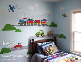 Train Stickers For Walls wall decal car truck train airplane wall decal wall sticker