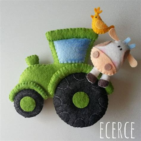 felt tractor pattern 5383 best images about fun felt crafts on pinterest