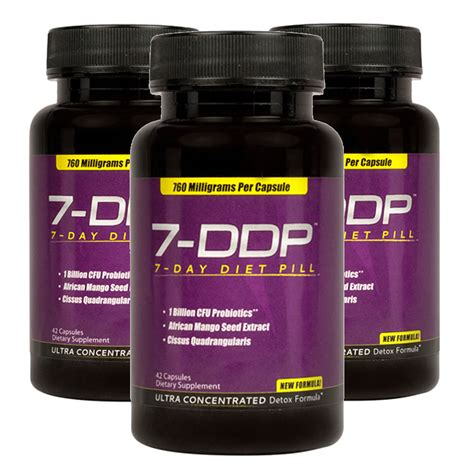7 Day Detox Weight Loss Pill by 7 Day Diet Pill 3pack Best Detox Cleanse 7 Day Diet