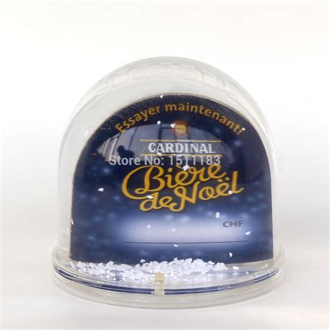 customized snow globes with personal photo for sale in