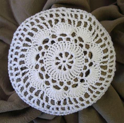 crochet pattern bun net bun cover hair net size medium hand crocheted flower style