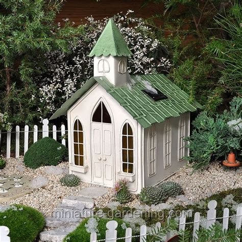 miniature gardening com cottages c 2 solar chapel it s lighted where to buy miniature and