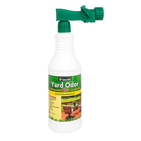 yard odor eliminator plus citronella spray naturvet