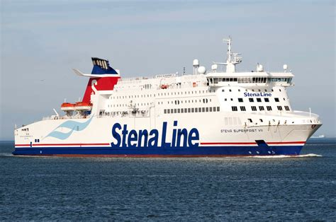 stena line confirms 163 7m fleet refit contract with harland wolff stena line