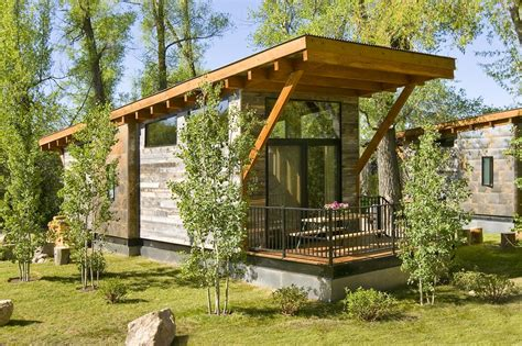 cabin design great space optimization in lovely house on wheels the wedge cabin freshome