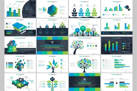 presentation template powerpoint business infographic presentation powerpoint template 66340