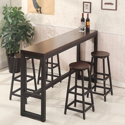 modern high top tables simple modern thickened bar table high table home small bar table and chairs balcony rectangular