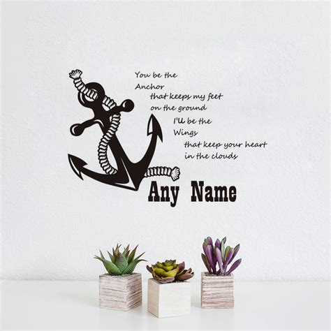 personalised wall sticker quotes personalised name decal quote vinyl wall sticker
